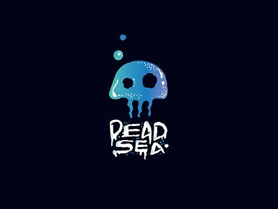 Dead Sea design art logo design logodesign logotype logo sea skull medusa
