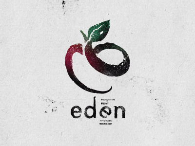 Eden art logo apple eden