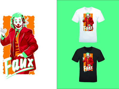 Joker T-Shirt Design