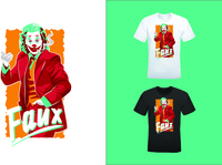 Joker T-Shirt Design