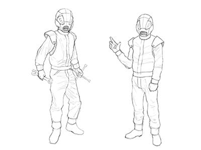 Mr. Chev Mascot (Sketch)