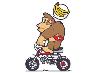 Donkey Kong x Honda Gorilla