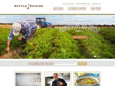Kettle Cuisine blue ion foundation responsive
