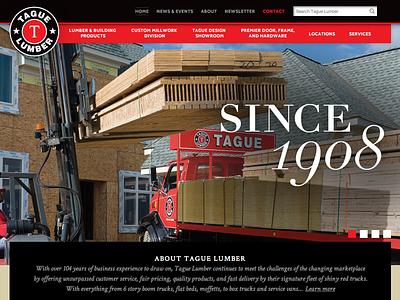 Tague Lumber wordpress responsive foundation jquery advanced custom fields