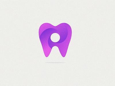 dental business 3d modern vector creative abstract design branding brand logo