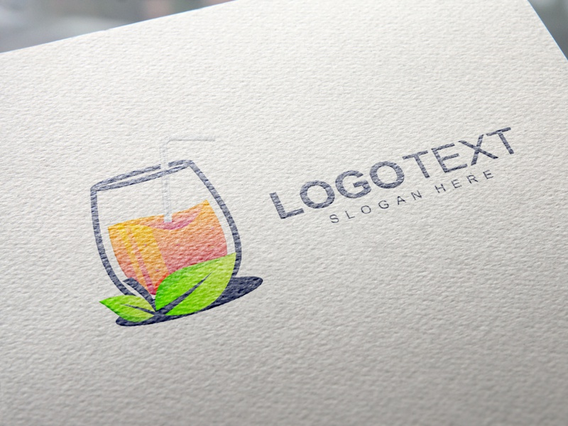 Juice abstract business creative drink modern juice logo design vector branding brand logo