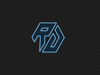 RD abstract business creative design vector monogram logo branding brand modern logo