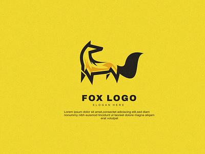 FOX creative business vector design fox animal brand modern logo