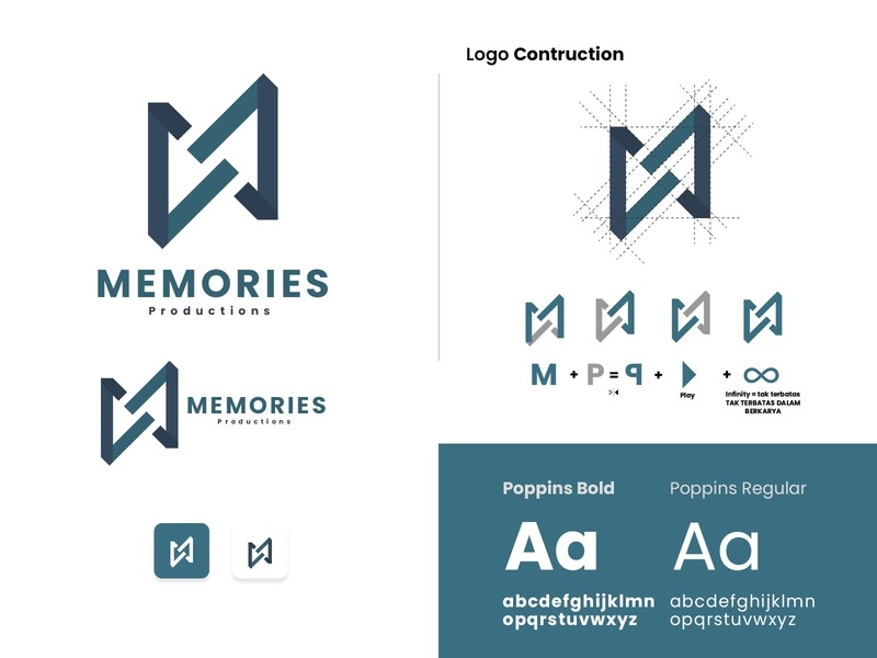 Memories Productions | Logo Design logoawesome logotype popular design popular shot brand identity logodesign designer professional logo logoworld minimalst logo design minimalist logo graphicdesign design designs logoinspiration branding logos logo design logo