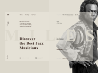 Musician's Landing Page