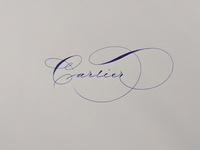 Spencerian Cartier