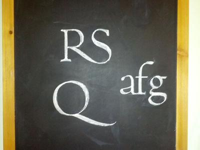 Chalkboard Roman