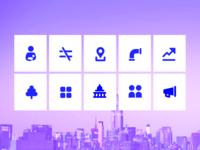 #ONENYC Icons