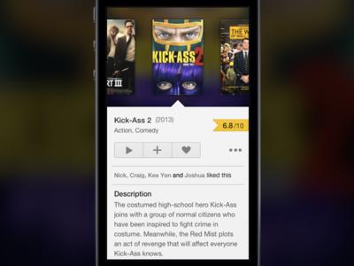 Movie Searching App movie search ios app
