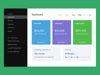 Infin Accounting Dashboard