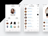 Fashion Circle App UI/UX