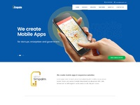Simpalm homepage redesign creativeera