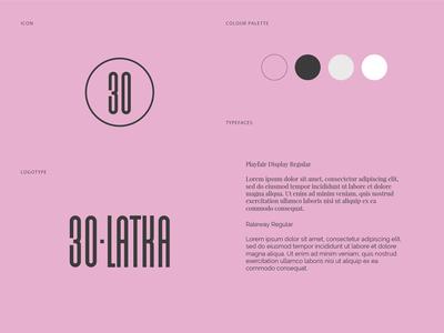 Visual Identity for 30-latka