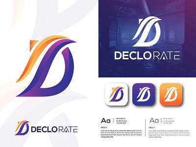 D letter Logo | Letter logo | D Letter | symbol icon | 2021 2021 abstract creative logo mark symbol vector negative space 3d monogram app ux ui icon branding logo mark typography letter letter d d
