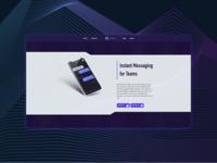 IM App landing page