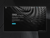 Landing page for a crypto product