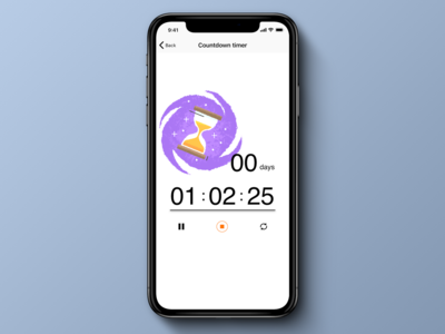 Daily UI 014. Countdown Timer.