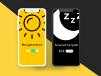 Daily UI 015. On/Off Switch.
