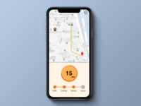 Daily UI 020 - Location Tracker.