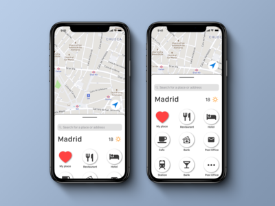 Daily UI 029, Map