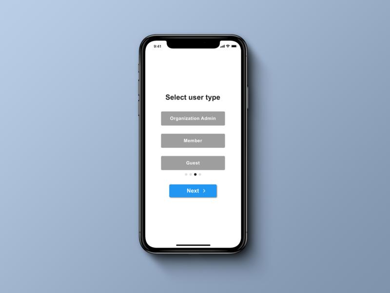 Daily UI 064 Select User Type dailyui064 design tool simple select user type 100 day challenge ui  ux diseño uipractice uidesign design ui sketch app dailyui
