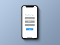 Daily UI 064 Select User Type