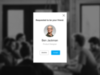 Daily UI 078 Pending Invitation.