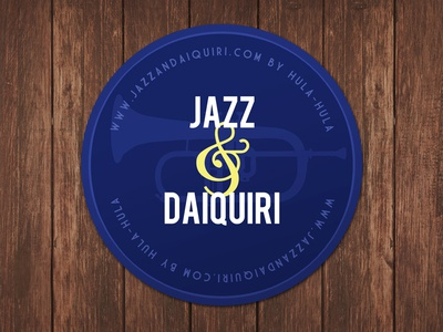 Coaster coaster jazz night identity