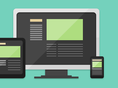 Devices devices flat responsive
