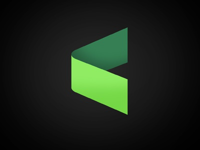Discarded logo logo discarded green minimalism