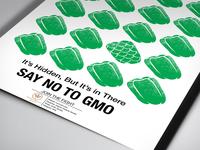 Anti-GMO campaign posters