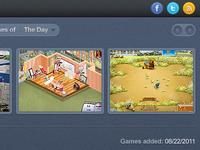 Games Talks Social Buttons