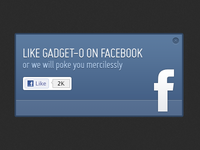 Gadget-o Facebox