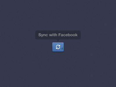 Fb sync button