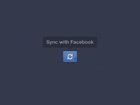 Facebook Sync Button