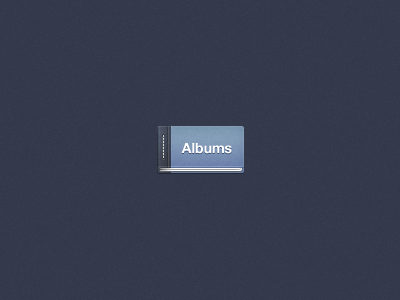 Facebook albums button