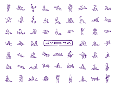 KYOMA icons tantra position sex