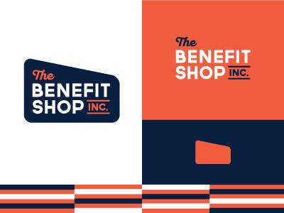 The Benefit Shop type identity branding logo gms benefit shop