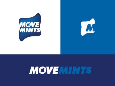 Movemints movemints type identity branding logo gms