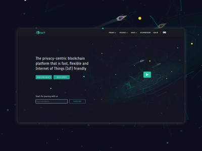 IOT project website website design web ui landing page front end design front end dev front end