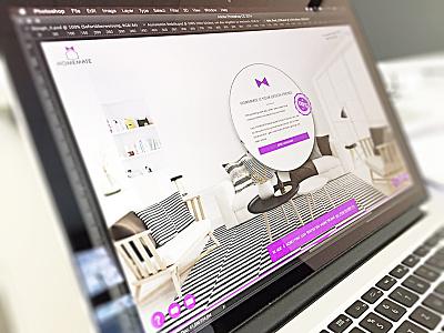 HOMEMATE (WIP) design web