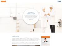 Faller website design