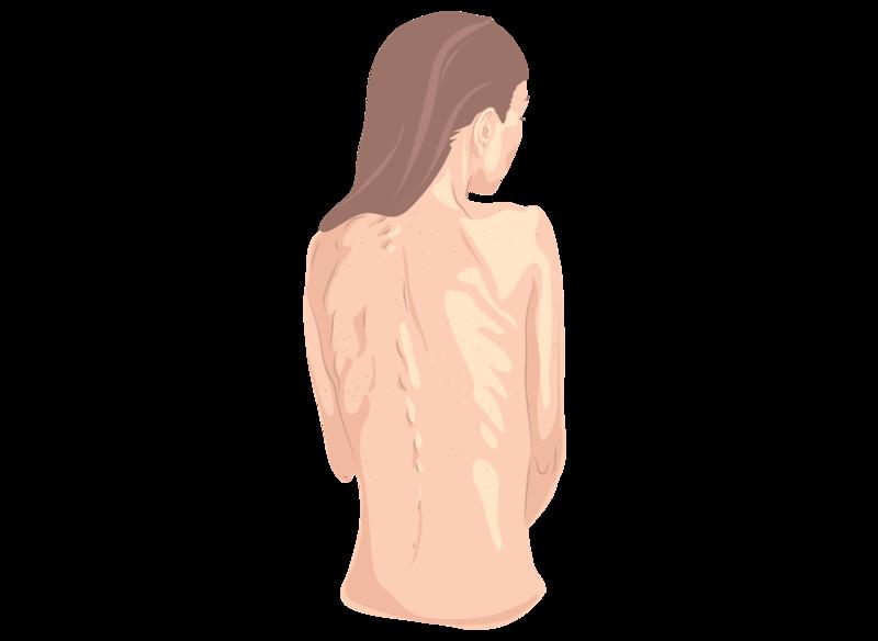 tiny skinny digital vector illustration illustrator illustration
