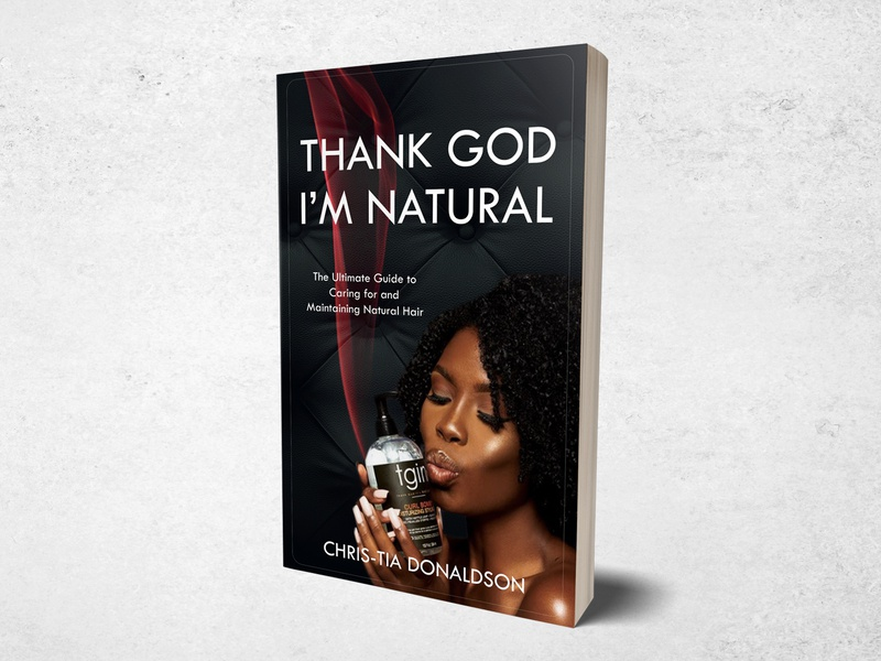Thank God I m Natural graphic typography branding flat graphic design design books bookdesign bookcoverdesign book