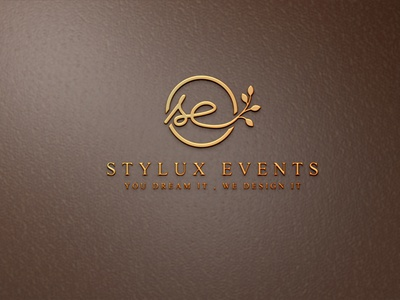 Stylux Events luxury minimalist logo design corporate minimal custom logo branding business logo professional logo minimalist logo design luxury minimalist logo minimalist logo luxury logo